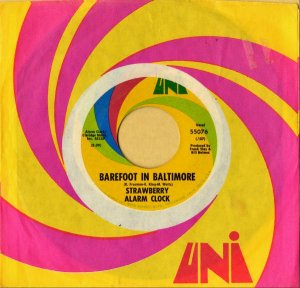 STRAWBERRY ALARM CLOCK / Barefoot In Baltimore [7INCH]