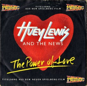 HUEY LEWIS AND THE NEWS / The Power Of Love [7INCH]