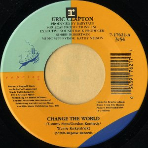 ERIC CLAPTON / Change The World [7INCH]