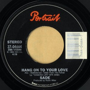 SADE / Hang On To Your Love [7INCH]