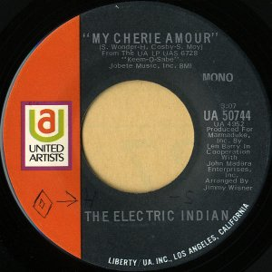 THE ELECTRIC INDIAN / My Cherie Amour [7INCH]