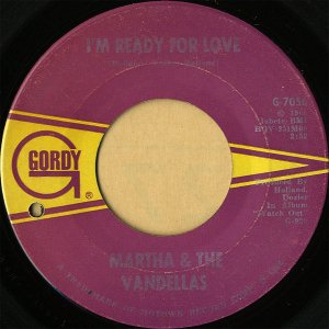 MARTHA AND VANDELLAS / I'm Ready For Love [7INCH]