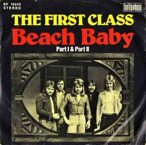 THE FIRST CLASS / Beach Baby [7INCH]