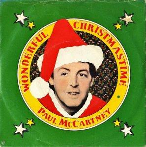 PAUL McCARTNEY / Wonderful Christmastime [7INCH]