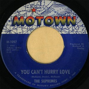 THE SUPREMES / You Can't Hurry Love [7INCH]