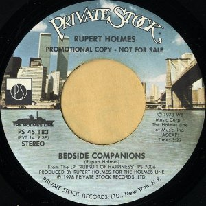 RUPERT HOLMES / So Beautiful It Hurts [7INCH]