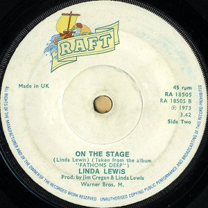 LINDA LEWIS / On The Stage [7INCH]