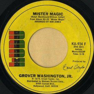 GROVER WASHINGTON, JR. / Mister Magic [7INCH]