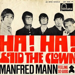 MANFRED MANN / Ha! Ha! Said The Clown [7INCH]