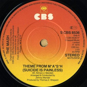 SOUNDTRACK (JOHNNY MANDEL) / Theme From M*A*S*H (Suicide Is Painless) [7INCH]