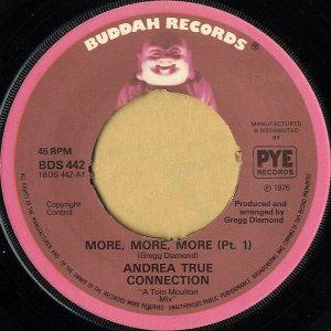 ANDREA TRUE CONNECTION / More, More, More (Pt.1) [7INCH]