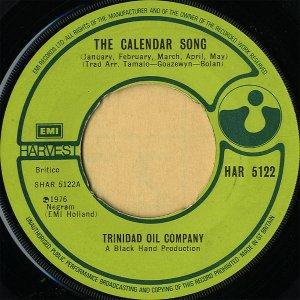 TRINIDAD OIL COMPANY / The Calendar Song [7INCH]
