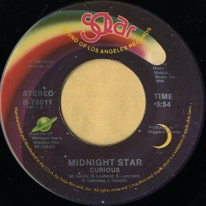 MIDNIGHT STAR / Curious [7INCH]