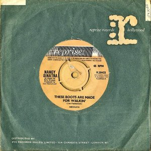 NANCY SINATRA / These Boots Are Made For Walkin' [7INCH]