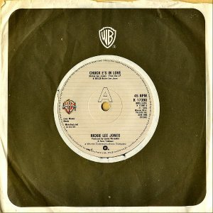 RICKIE LEE JONES / Chuck E's In Love [7INCH]
