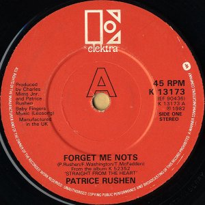PATRICE RUSHEN / Forget Me Nots [7INCH]
