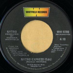 NYTRO / Nytro Express (Edit) [7INCH]