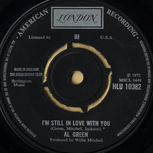 AL GREEN / I'm Still In Love With You [7INCH]