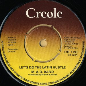 M & O BAND / Let's Do The Latin Hustle [7INCH]