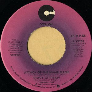 STACY LATTISAW / Attack Of The Name Game [7INCH]