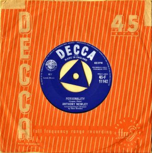 ANTHONY NEWLEY / Personality [7INCH]