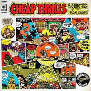 JANIS JOPLIN, BIG BROTHER AND THE HOLDING COMPANY / Cheap Thrills [LP]