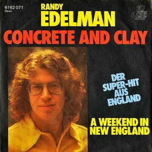 RANDY EDELMAN / Concrete And Clay [7INCH]