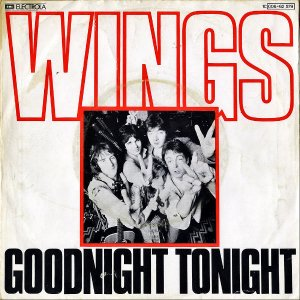 WINGS / Goodnight Tonight [7INCH]