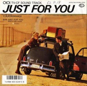 片柳譲陽 Y.KATAYANAGI / Just For You [7INCH]