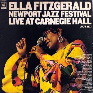 ELLA FITZGERALD エラ・フィッツジェラルド / Newport Jazz Festival Live At Carnegie Hall [LP]