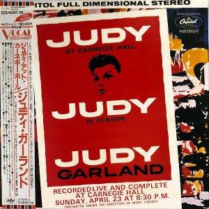 JUDY GARLAND ジュディ・ガーランド / Judy At Carnegie Hall [LP]