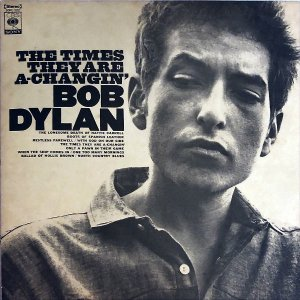 BOB DYLAN ボブ・ディラン / The Times They Are A Changin' [LP]