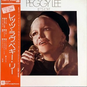 PEGGY LEE ペギー・リー / Let's Love [LP]