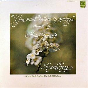 KARIN KROG カーリン・クローグ / You Must Believe In Spring Songs By MICHEL LEGRAND [LP]