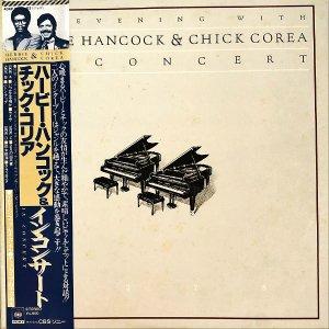 HERBIE HANCOCK & CHICK COREA ハービー・ハンコック&チック・コリア / In Concert [LP]
