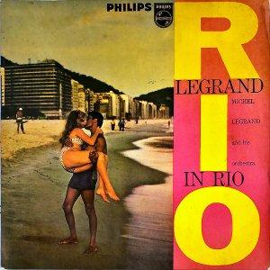 MICHEL LEGRAND AND HIS ORCHESTRA / Legrand In Rio [LP]