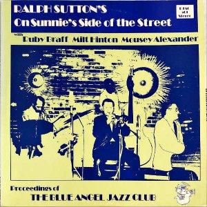 RALPH SUTTON / On Sunnie's Side Of The Street [LP]