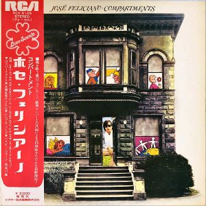 JOSE FELICIANO ホセ・フェリシアーノ / Compartments コンパートメント [LP]