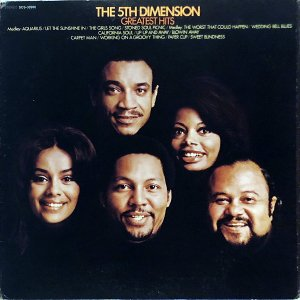 THE 5TH DIMENSION / Greatest Hits [LP]