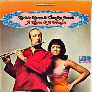 HERBIE MANN AND TAMIKO JONES / A Man And Woman [LP]