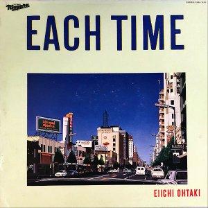 大滝詠一 OHTAKI EIICHI / イーチ・タイム Each Time [LP]