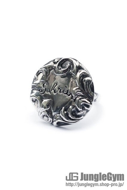 SAHRIVAR(シャフリーヴァル)Floral Concho Ring (Silver925)  / 17号