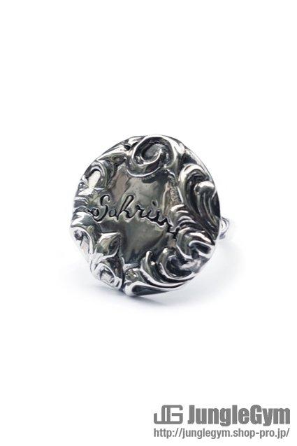 ★受注生産予約 SAHRIVAR(シャフリーヴァル)Floral Concho Ring