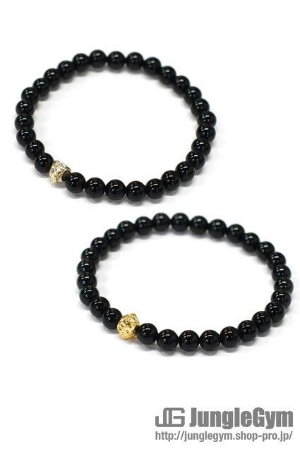 ★受注生産予約 SAHRIVAR(シャフリーヴァル)Jesus Ball Bracelet(Onyx)