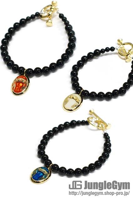 ★受注生産予約 SAHRIVAR(シャフリーヴァル)Predatory Bracelet (Onyx)