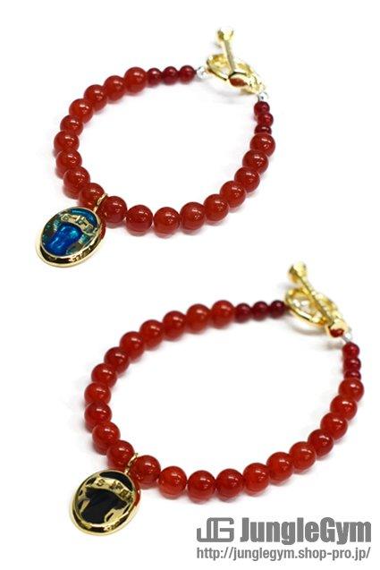 ★受注生産予約 SAHRIVAR(シャフリーヴァル)Predatory Bracelet (Red Agate)