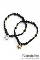☆在庫あり SAHRIVAR(シャフリーヴァル)Hexagram Bracelet(Onyx)