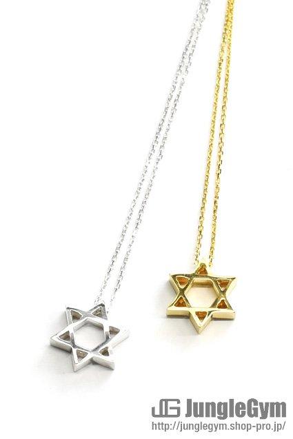 ■受注生産予約(8/9 am10:00まで)■ SAHRIVAR(シャフリーヴァル)Hexagram Necklace