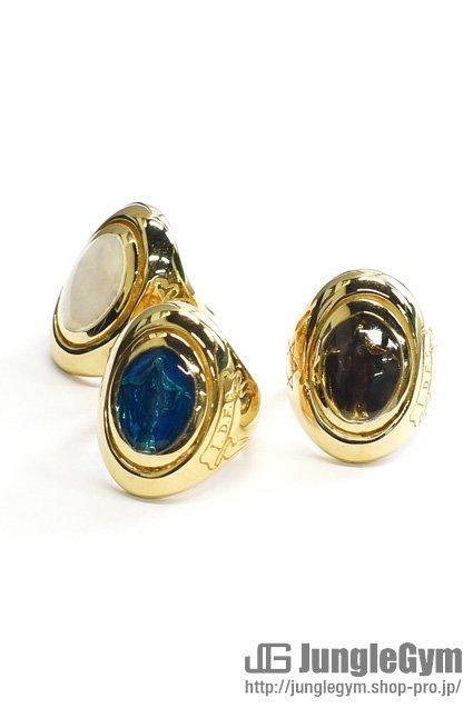 ■受注生産予約(8/9 am10:00まで)■ SAHRIVAR(シャフリーヴァル)Maria Enameled Ring / 18K on Brass