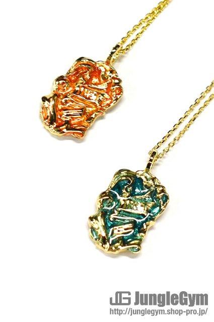 SAHRIVAR(シャフリーヴァル)INRI Enameled Necklace